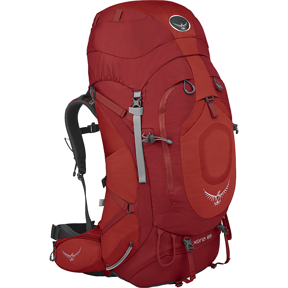 Osprey Xena 85 Backpack Ruby Red - MD - Osprey Backpacking Packs - Outdoor, Backpacking Packs