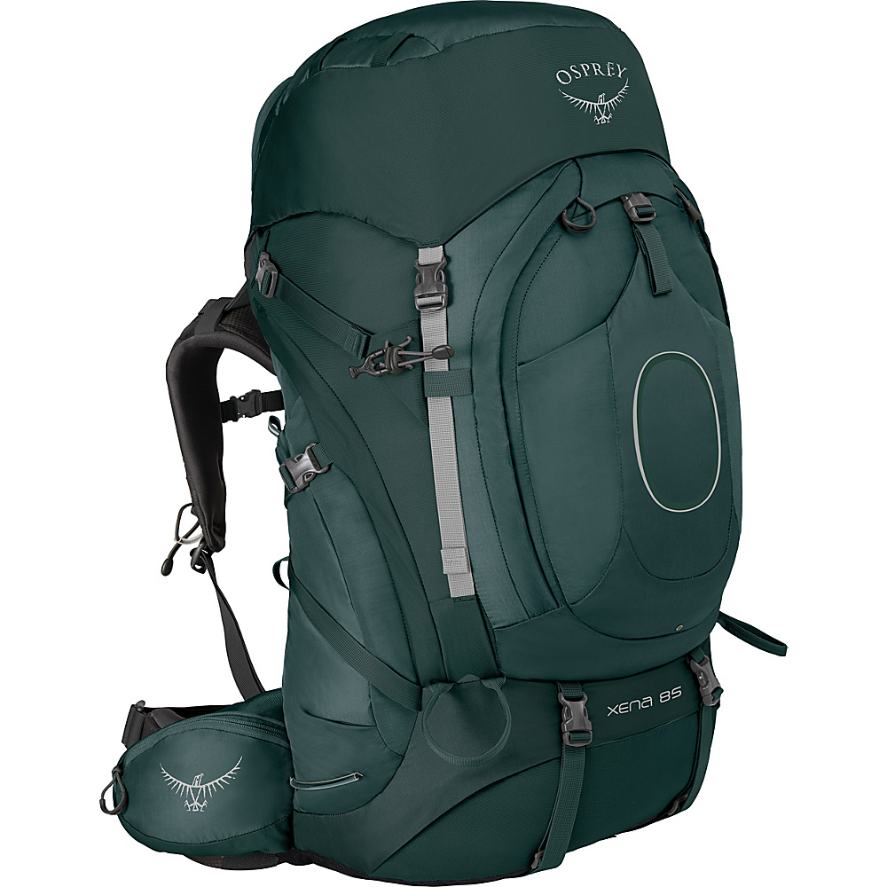 Osprey Xena 85 Backpack Canopy Green – MD - Osprey Backpacking Packs - Outdoor, Backpacking Packs
