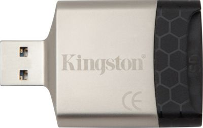 Kingston MobileLite G4 USB 3.0 Reader Silver - Kingston Electronic Accessories