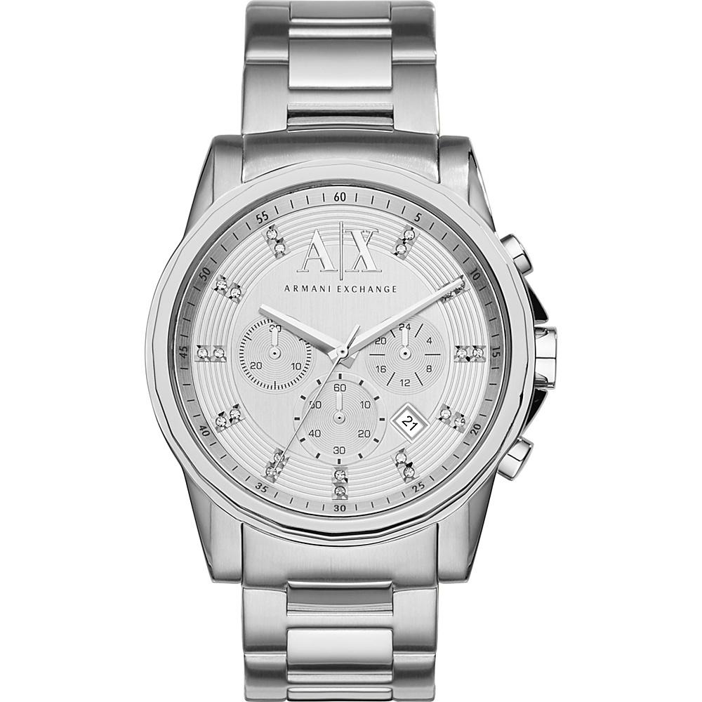 A/X Armani Exchange Outer Banks Watch Silver - A/X Armani Exchange Watches