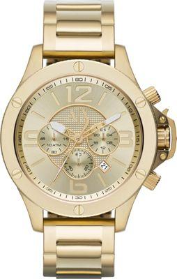 A/X Armani Exchange Street Stainless Chronograph Watch Gold - A/X Armani Exchange Watches