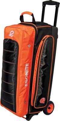 Ebonite Eclipse Triple Roller Bowling Bag Orange - Ebonite Bowling Bags