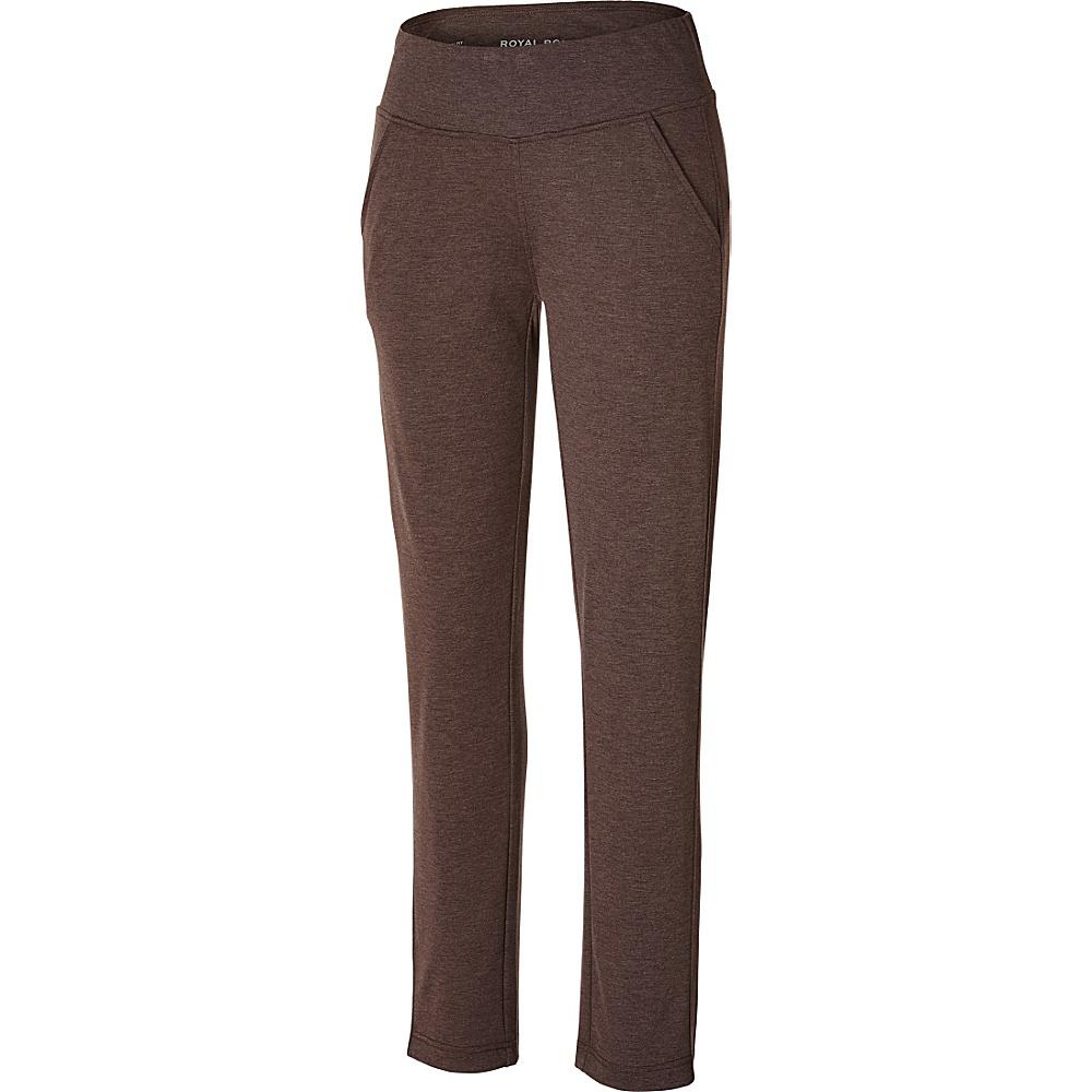 Royal Robbins Metro Melange Stretch Pant L - Java - Royal Robbins Mens Apparel - Apparel & Footwear, Men's Apparel
