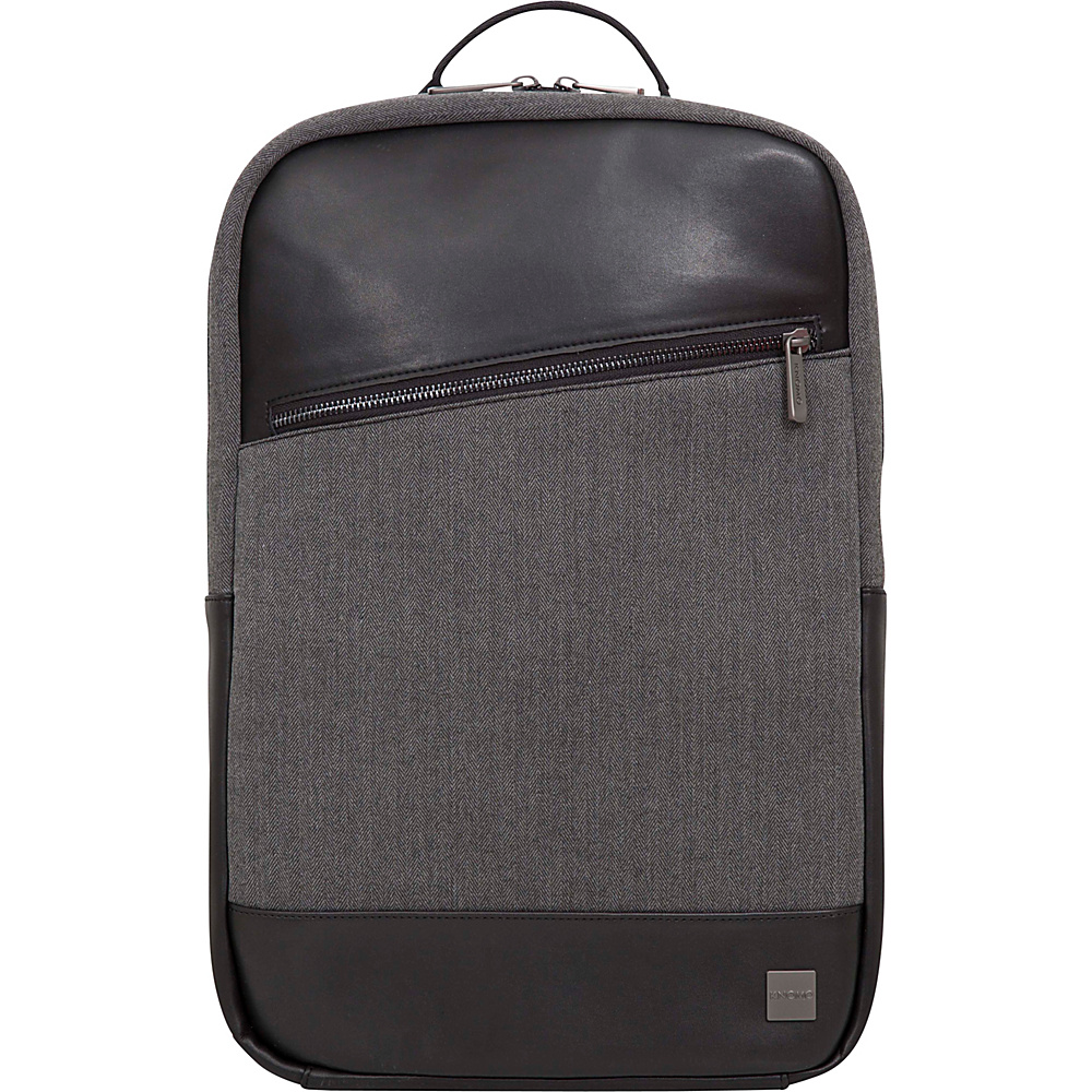 KNOMO London Holborn Southampton Backpack Black Grey Heather KNOMO London Business Laptop Backpacks