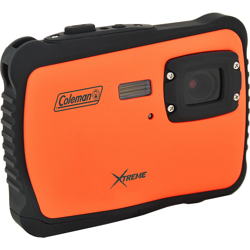 Coleman Xtreme 12.0 MP HD Underwater Digital Video Camera Waterproof to 10 ft Orange Coleman Cameras