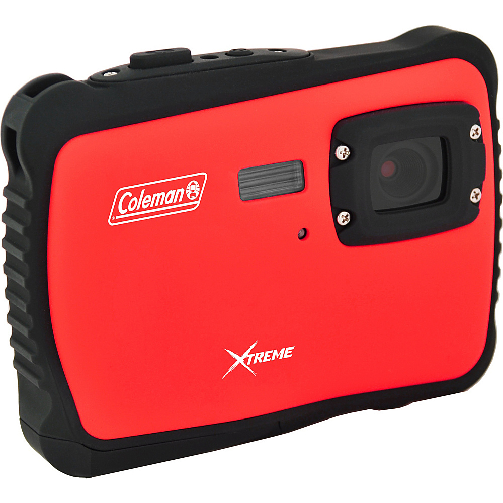 Coleman Xtreme 12.0 MP HD Underwater Digital Video Camera Waterproof to 10 ft Red Coleman Cameras