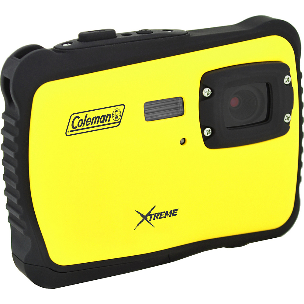 Coleman Xtreme 12.0 MP HD Underwater Digital Video Camera Waterproof to 10 ft Yellow Coleman Cameras