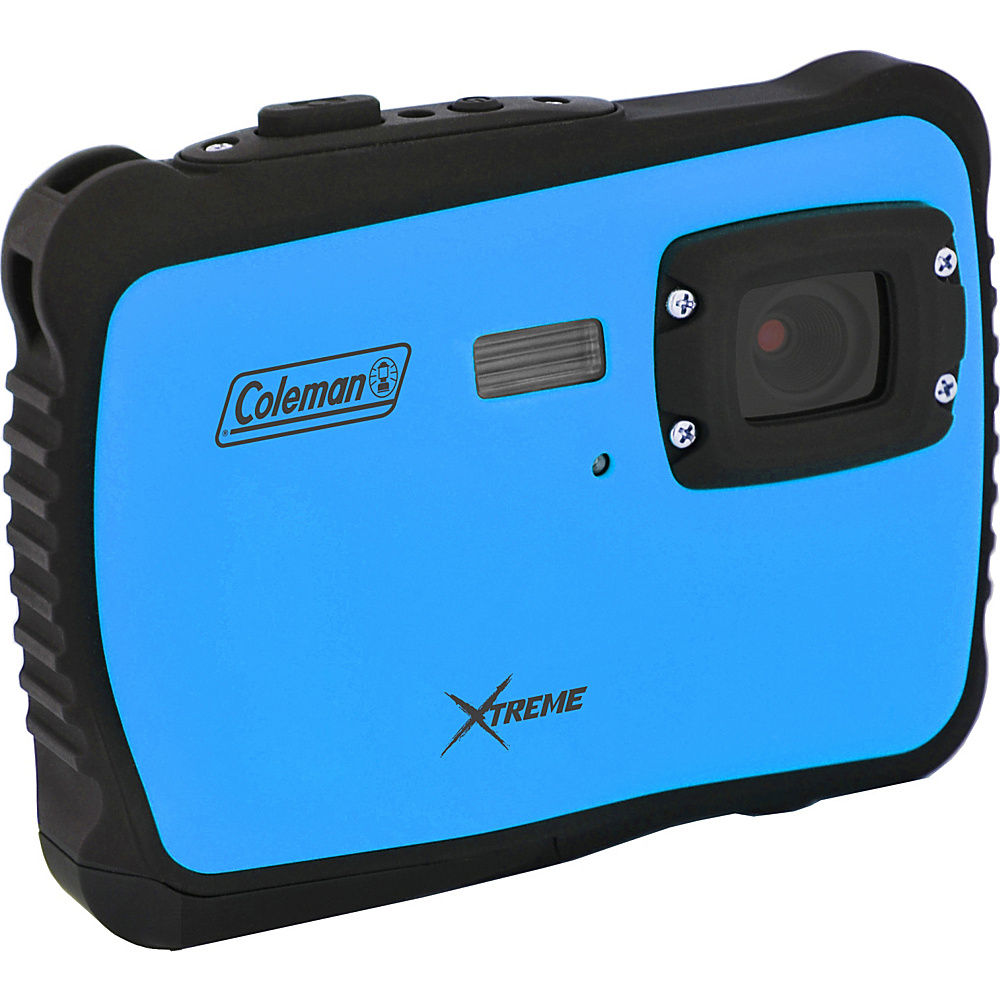 Coleman Xtreme 12.0 MP HD Underwater Digital Video Camera Waterproof to 10 ft Blue Coleman Cameras