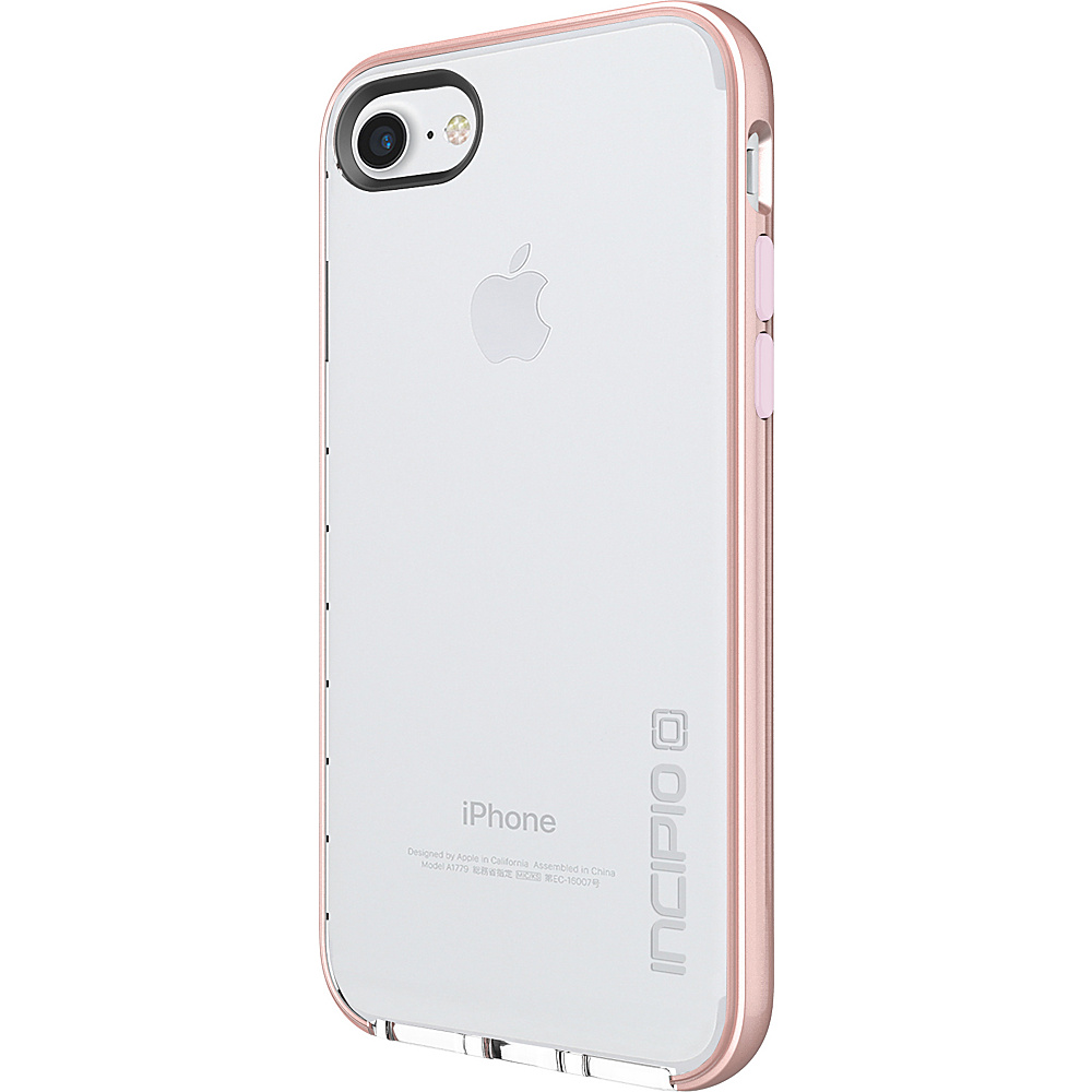 Incipio Reprieve [Lux] for iPhone 7 Clear/Iridescent Rose Gold/Blush Pink(CRP) - Incipio Electronic Cases - Technology, Electronic Cases