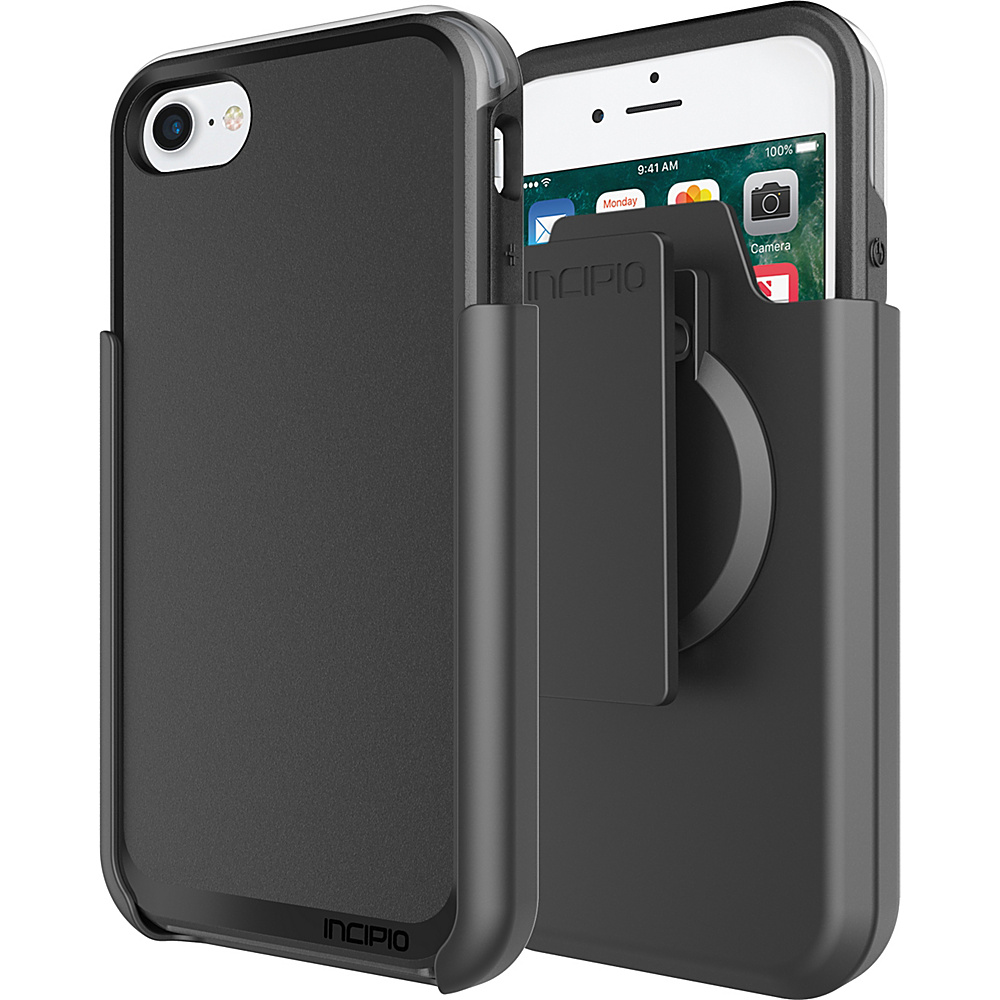Incipio Performance Series Ultra (with holster) for iPhone 7 Black/Gray(BKG) - Incipio Electronic Cases - Technology, Electronic Cases