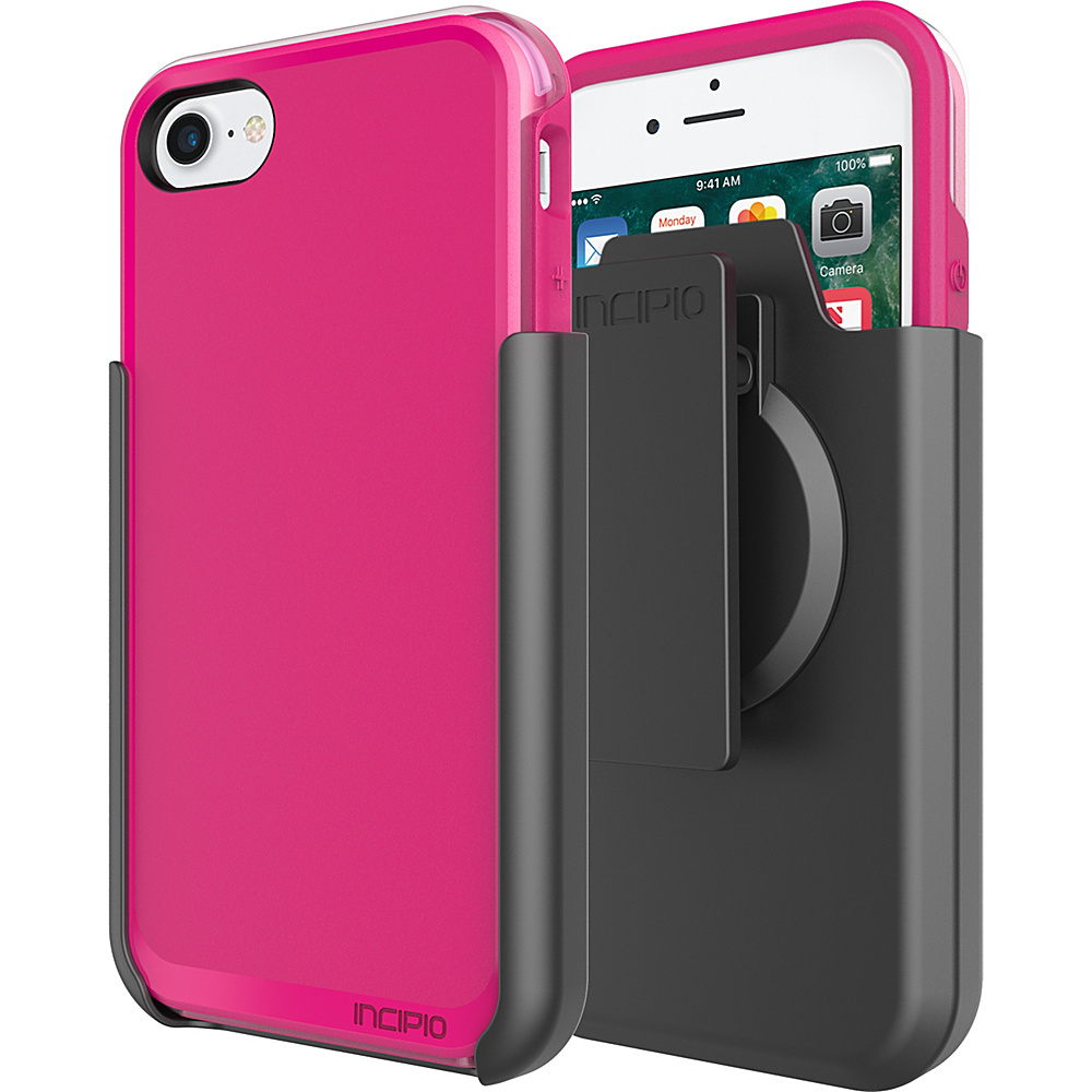 Incipio Performance Series Ultra (with holster) for iPhone 7 Berry Pink/Rose(BPR) - Incipio Electronic Cases - Technology, Electronic Cases