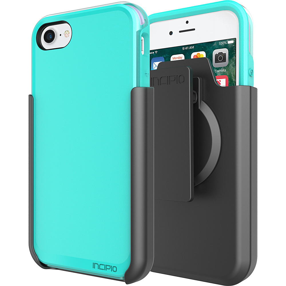 Incipio Performance Series Ultra (with holster) for iPhone 7 Turquoise/Dusty Grape(TDG) - Incipio Electronic Cases - Technology, Electronic Cases