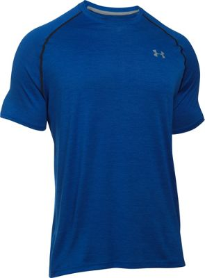 Under Armour UA Tech Short Sleeve T M - Royal/Steel - Under Armour Men's Apparel
