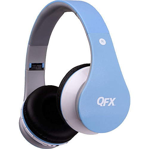qfx folding bluetooth stereo headphones. Black Bedroom Furniture Sets. Home Design Ideas