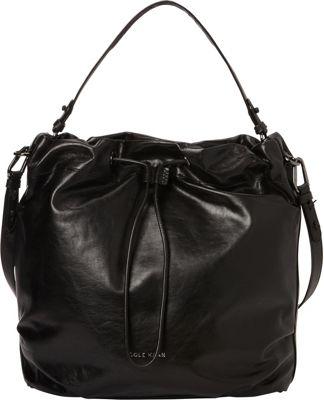 Cole Haan Stagedoor Small Studio Bag Black - Cole Haan Designer Handbags