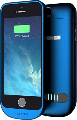 PhoneSuit Elite Battery + Case for iPhone 5/5S Blue - PhoneSuit Electronic Cases