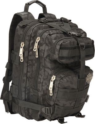 Harley Davidson by Athalon Harley Davidson Molle Backpack/Tandem Black night Vision - Harley Davidson by Athalon Business & Laptop Backpacks