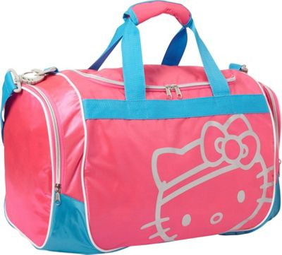 Hello Kitty Golf Hello Kitty GO! Sports Duffel Bag Pink - Hello Kitty Golf Gym Duffels