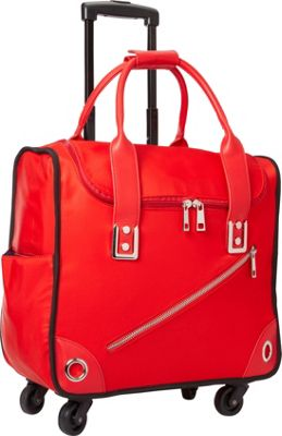 Hang Accessories Nylon 360 Rolling Bag Red - Hang Accessories Softside Carry-On