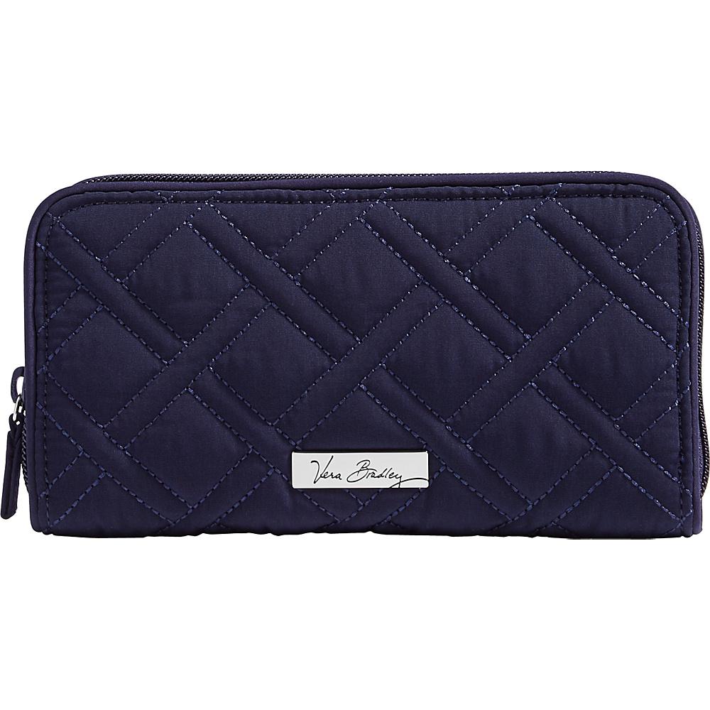 Vera Bradley RFID Georgia Wallet - Solid Classic Navy - Vera Bradley Womens Wallets - Women's SLG, Women's Wallets