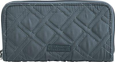 Vera Bradley RFID Georgia Wallet - Solid Charcoal - Vera Bradley Women's Wallets
