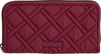 Vera Bradley RFID Georgia Wallet - Solid Hawthorn Rose - Vera Bradley Women's Wallets