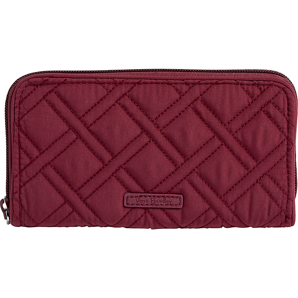 Vera Bradley RFID Georgia Wallet - Solid Hawthorn Rose - Vera Bradley Womens Wallets - Women's SLG, Women's Wallets