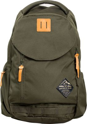 United by Blue 25L Rift Pack Olive - United by Blue Business & Laptop Backpacks