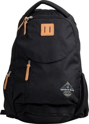 United by Blue 25L Rift Pack Black - United by Blue Business & Laptop Backpacks