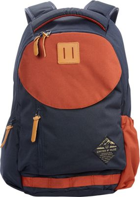 United by Blue 25L Rift Pack Navy/Rust - United by Blue Business & Laptop Backpacks