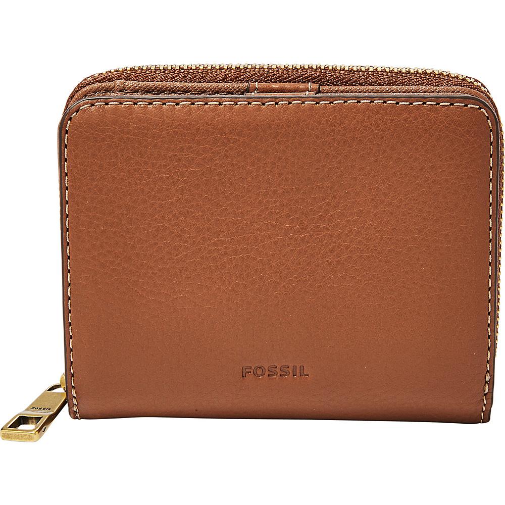 Fossil Emma RFID Mini Multifunction Brown - Fossil Womens Wallets - Women's SLG, Women's Wallets