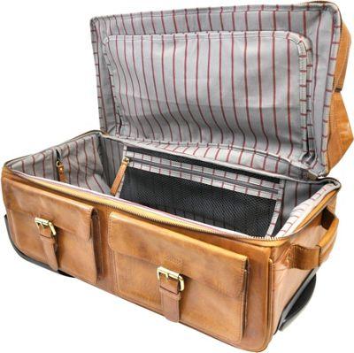Rawlings Rugged Series 22 inch Wheeled Travel Duffle Cognac - Rawlings Softside Carry-On