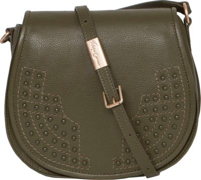 Foley + Corinna Stevie Saddle Bag Moss - Foley + Corinna Designer Handbags