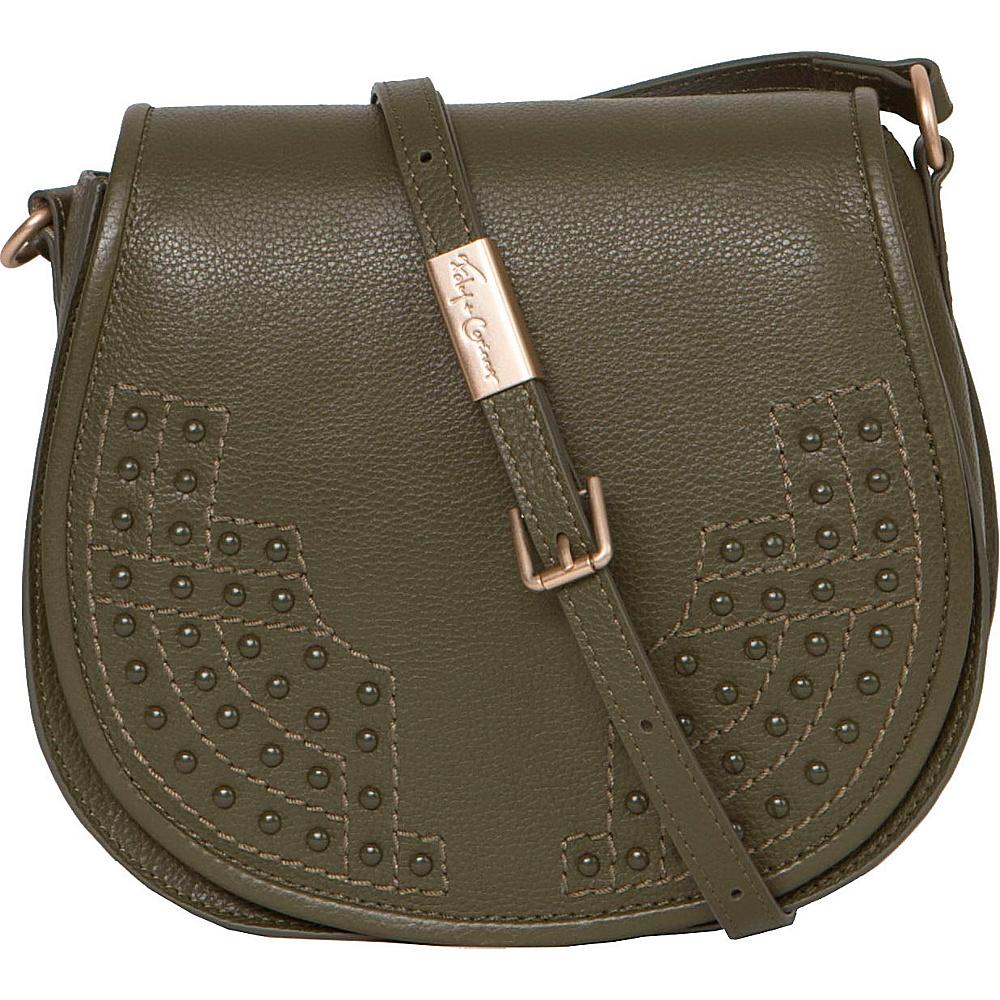 Foley Corinna Stevie Saddle Bag Moss Foley Corinna Designer Handbags