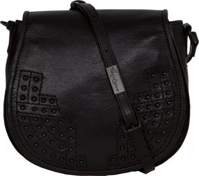 Foley + Corinna Foley + Corinna Stevie Saddle Bag Black - Foley + Corinna Designer Handbags
