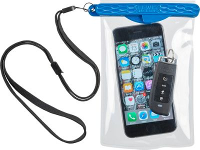 Lewis N. Clark Automatic Magnetic Waterproof Pouch Blue/Clear - Lewis N. Clark Electronic Cases