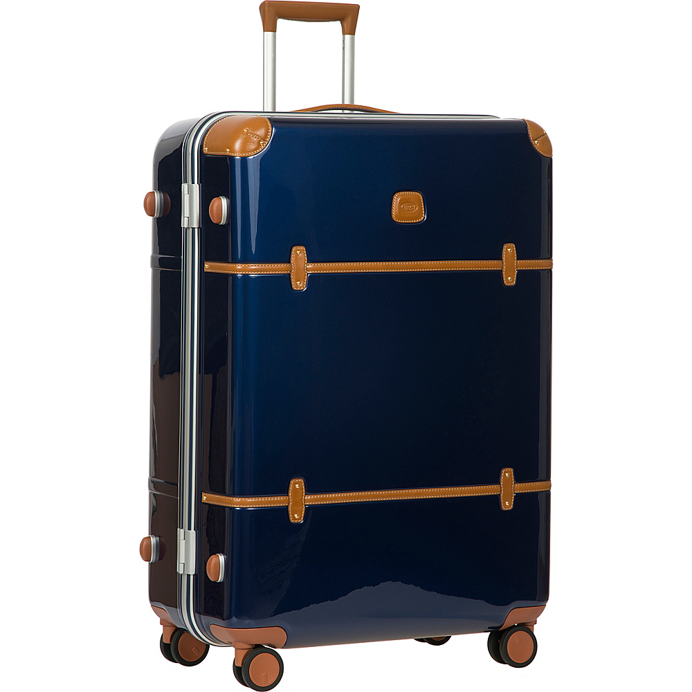 BRIC S Bellagio Metallo 2.0 32 Spinner Trunk Blue BRIC S Hardside Checked