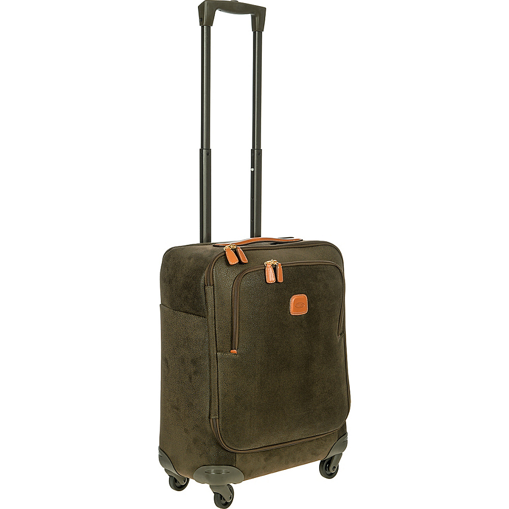 BRIC S Life 21 Carry On Spinner Olive BRIC S Softside Carry On
