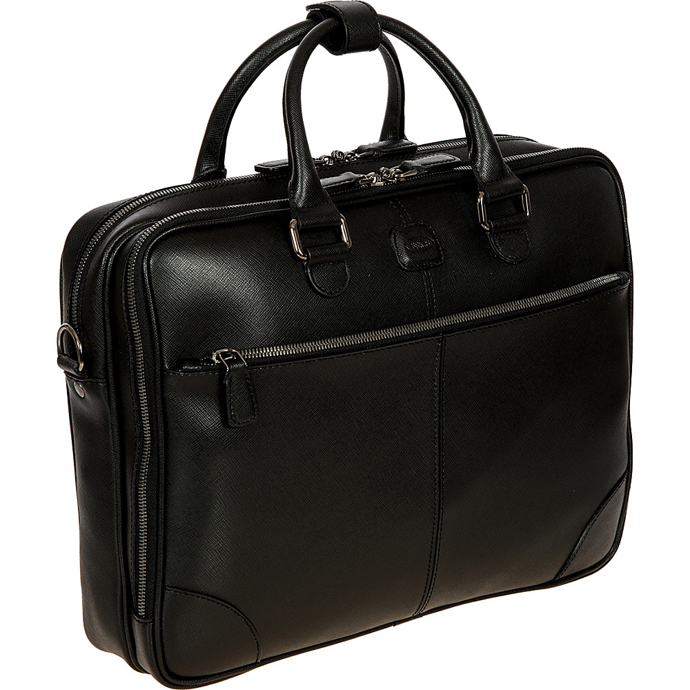 BRIC S Varese Business Briefcase Large Black BRIC S Non Wheeled Business Cases