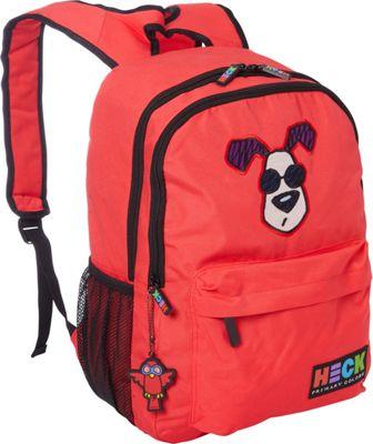 Ed Heck Luggage Looking Cool Backpack Red - Ed Heck Luggage Everyday Backpacks