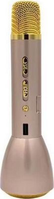 Koolulu Kool Karaoke + Power bank + Speaker Gold - Koolulu Portable Entertainment