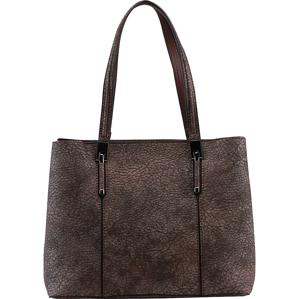 MKF Collection by Mia K. Farrow Mirable Shoulder Tote Brown - MKF Collection by Mia K. Farrow Gym Bags - Sports, Gym Bags