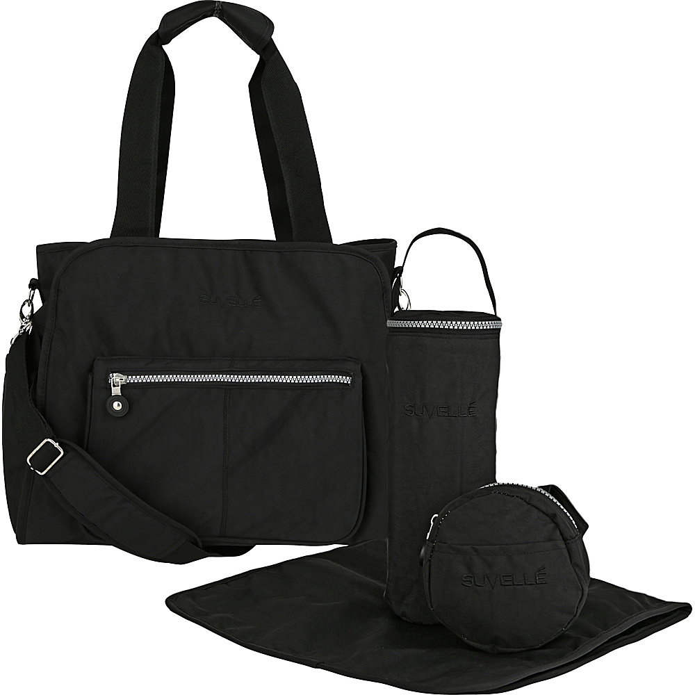 suvelle rfid travel diaper bag 5 colors diaper bags accessorie new ebay. Black Bedroom Furniture Sets. Home Design Ideas