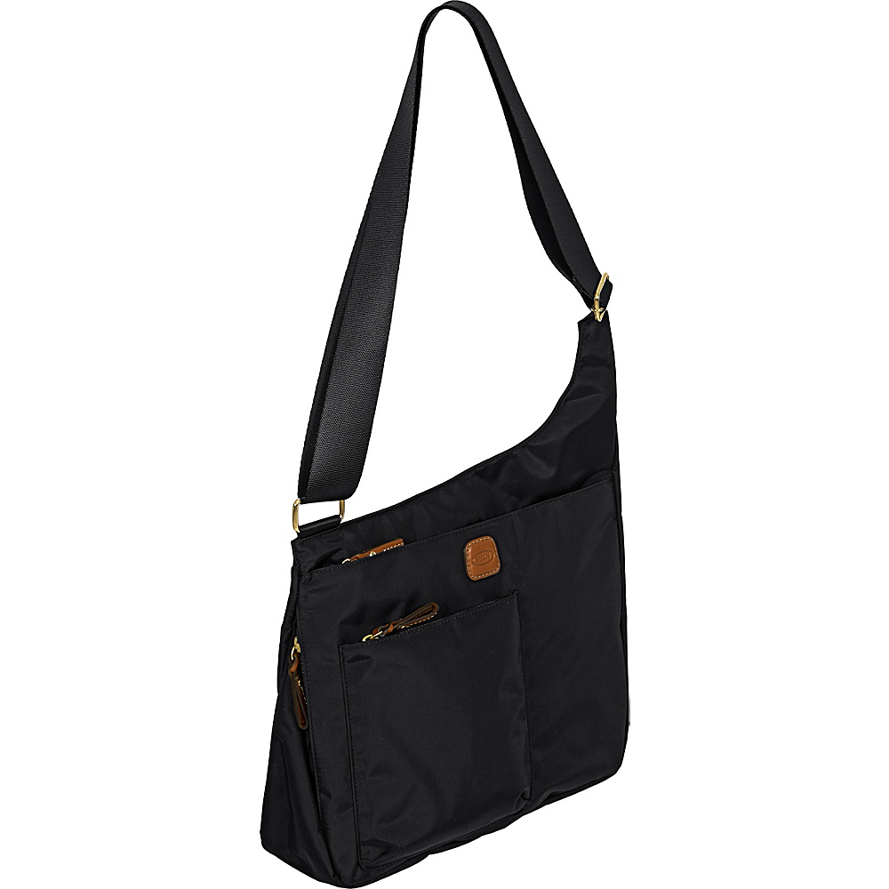 BRIC S X Bag Hipster Envelope Messenger Bag Black BRIC S Messenger Bags