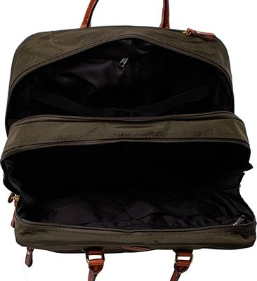 BRIC'S X-Bag Rolling Pilot Case Tote Olive - BRIC'S Softside Carry-On