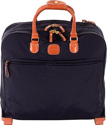 BRIC'S X-Bag Rolling Pilot Case Tote Navy - BRIC'S Softside Carry-On