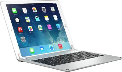 Brydge 12.9-inch Bluetooth Keyboard Case for iPad Pro 12.9-in Silver - Brydge Tablets