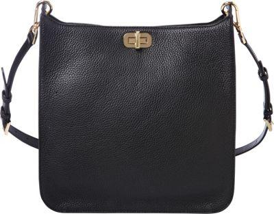 MICHAEL Michael Kors Sullivan Large NS Messenger Black - MICHAEL Michael Kors Designer Handbags