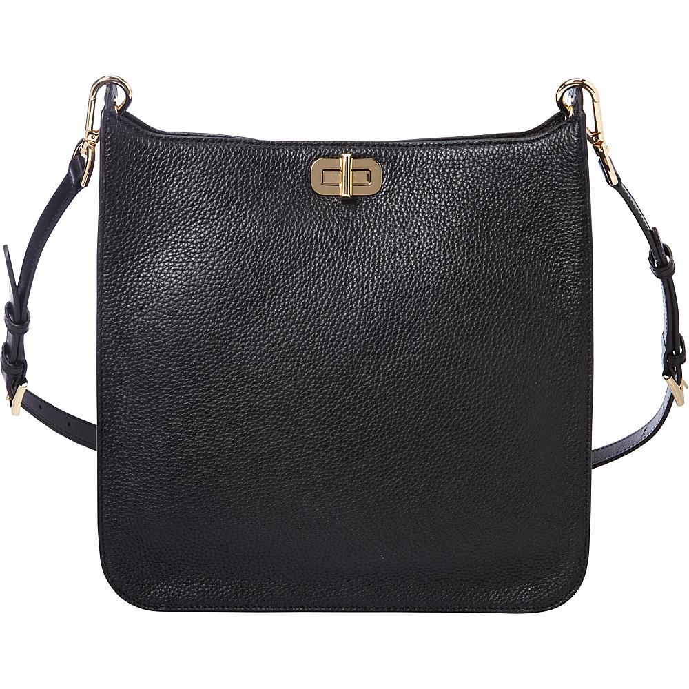 MICHAEL Michael Kors Sullivan Large NS Messenger Black MICHAEL Michael Kors Designer Handbags