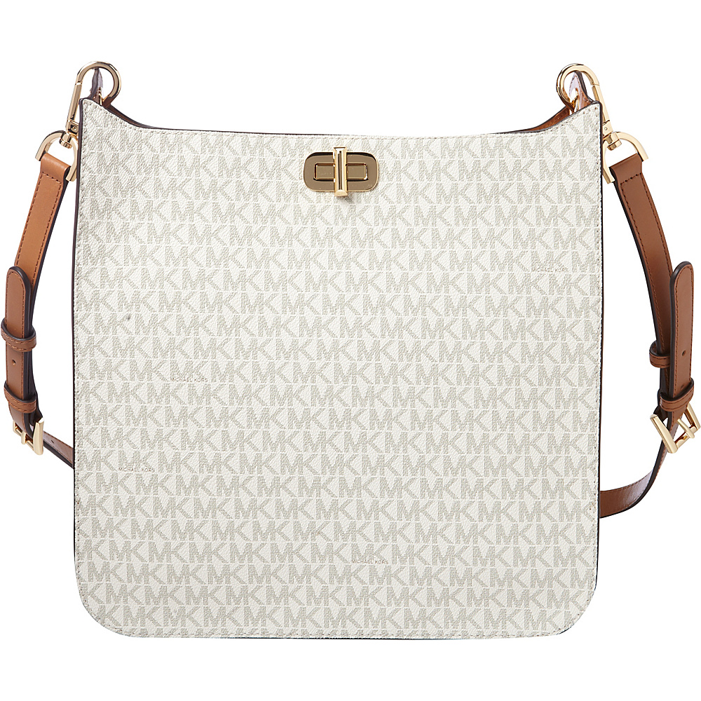 MICHAEL Michael Kors Sullivan Large NS Messenger Vanilla MICHAEL Michael Kors Designer Handbags